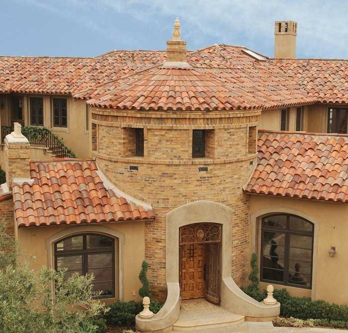 Redlands Clay Tile Roof & Roofing Projects u003c Roofing Contractor | Mid State Roofing Paso ... memphite.com